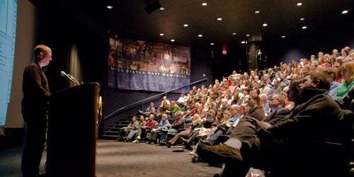 Michael Murphy presenting in Washington, D.C.